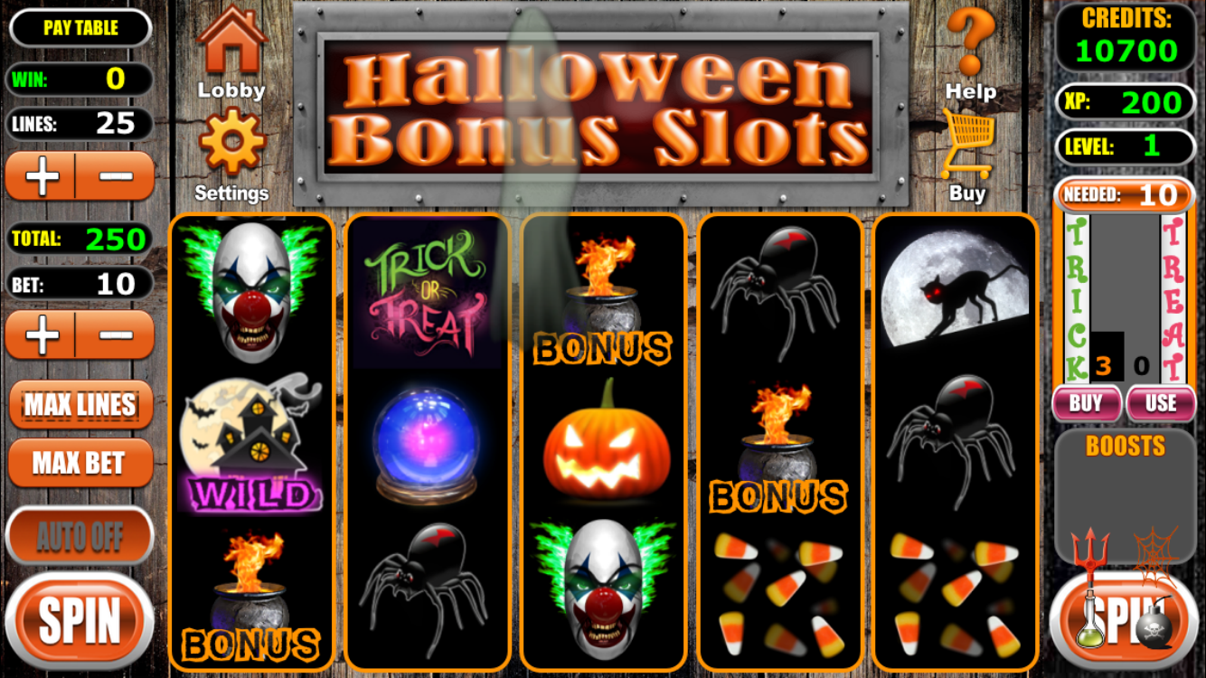 halloween bonus slots for iphone & ipad