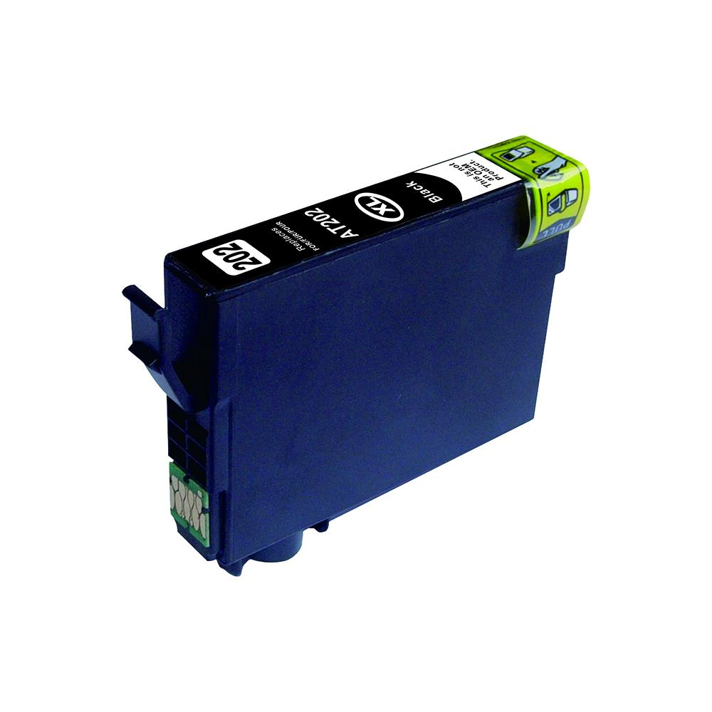 Black Compatible Inkjet Cartridge - 202XL Black