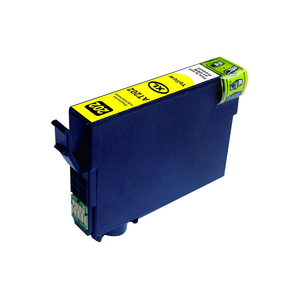 Yellow Compatible Inkjet Cartridge - 202XL Yellow