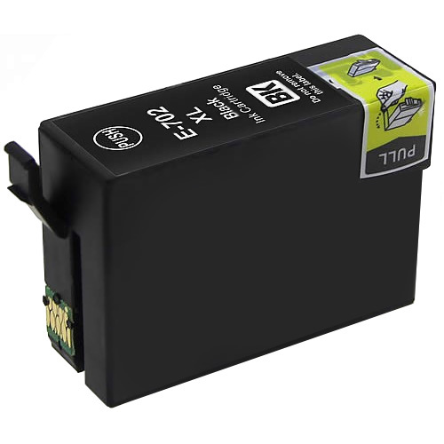 Black Compatible Inkjet Cartridge - 702XL Black