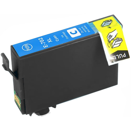 Cyan Compatible Inkjet Cartridge - 702XL Cyan