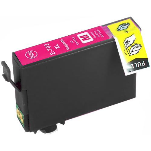 Magenta Compatible Inkjet Cartridge - 702XL Magenta