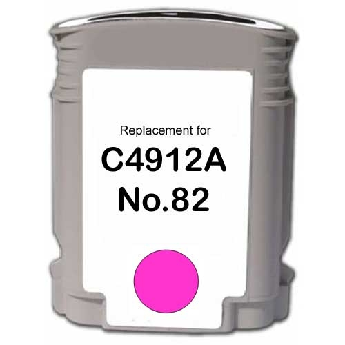 Magenta Reman Cartridge - C4912A (HP 82)