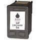 Black Reman Cartridge - CB334AWN (HP 54) (High page yield)