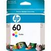 Color OEM Cartridge - CC643WN (HP 60 Tri-Color) (165 page yield)