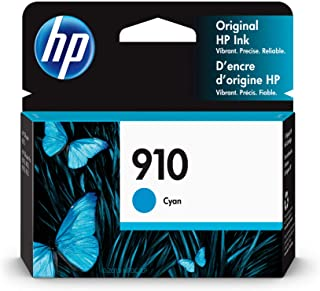 **OUT OF STOCK** Cyan HP 910 OEM Inkjet Cartridge (330 page yield) - 3YL58AN