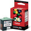 Color OEM Cartridge - 10N0026 (#26)