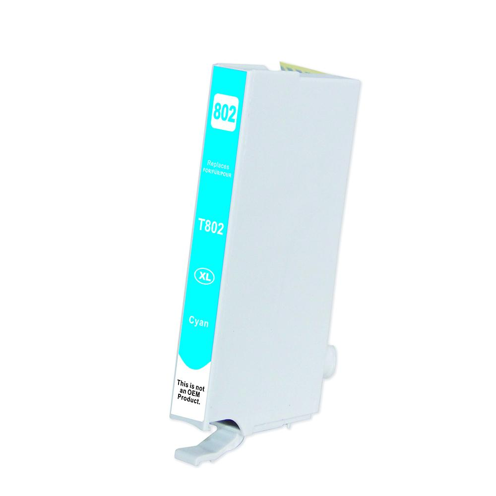 Cyan Inkjet Cartridge - 802xl Cyan