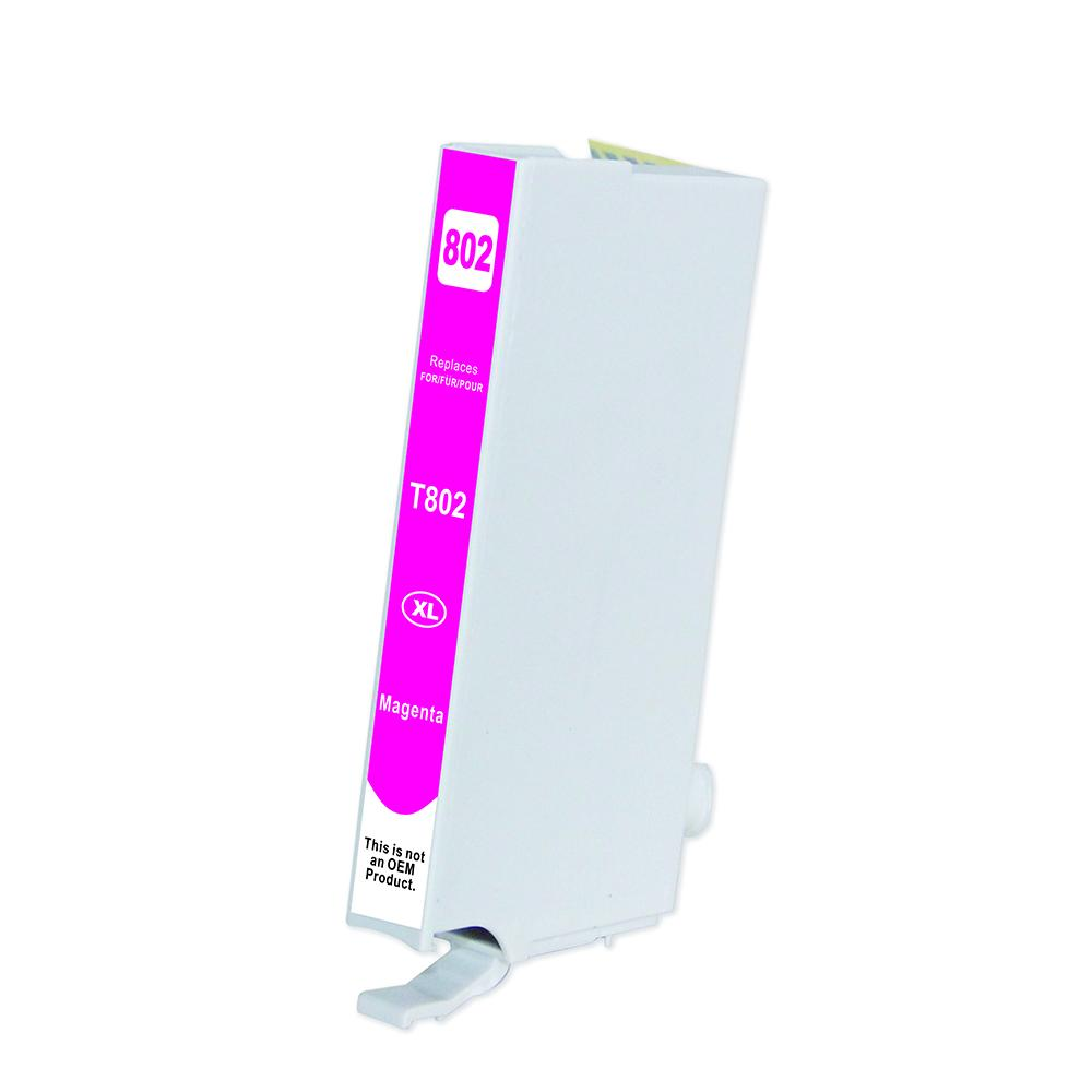 Magenta Inkjet Cartridge - 802xl Magenta