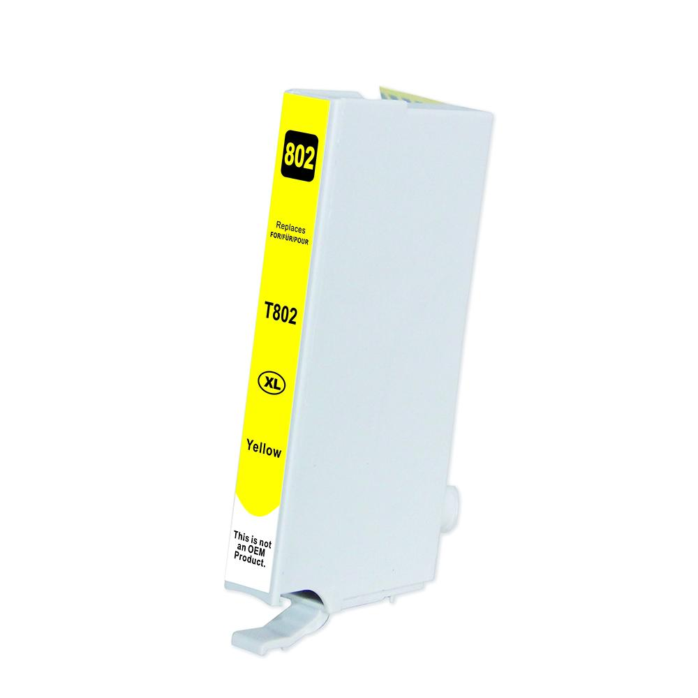 Yellow Inkjet Cartridge - 802XL Yellow