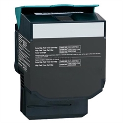 Black Compatible Toner - C544X1KG (6000 page yield)