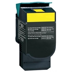Yellow Compatible Toner - C544X1YG (4000 page yield)