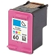 Color Reman Cartridge - CC643WN (HP 60 Tri-Color) (165 page yield)