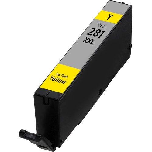Yellow Extra High Capacity Ink Tank - CLI-281XXL Yellow