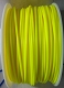 Yellow PLA 3D Filament (1.75MM)(1 kg/roll)