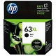 Black OEM Cartridge - F6U64AN (HP 63XL) (480 page yield)