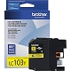 Yellow OEM Cartridge - LC103Y (XL) (600 page yield)