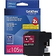 Magenta OEM Cartridge - LC105M (XXL) (1200 page yield)