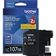 Black OEM Cartridge - LC107BK (XXL) (1200 page yield)
