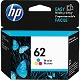Color OEM Cartridge - C2P06AN (HP 62) (165 page yield)