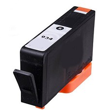 Black Reman Cartridge - C2P19AN / C2P23AN (HP 934XL) (1000 page yield)