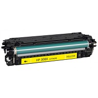 Yellow Compatible Toner - CF362A / CF362X (HP 508X) (9500 page yield)