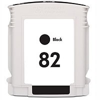 Black Reman Cartridge - CH565A (HP 82)