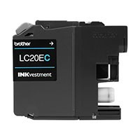 Cyan Compatible Cartridge - LC20EC (XXL Series) (Super High page yield)