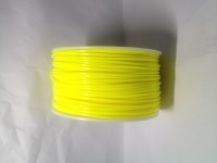 Yellow ABS 3D Filament (1.75MM)(1 kg/roll)