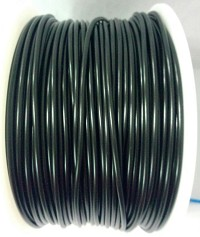 Black PLA 3D Filament (1.75MM)(1 kg/roll)