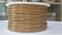 Gold PLA 3D Filament (1.75MM)(1 kg/roll)