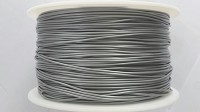 Silver PLA 3D Filament (1.75MM)(1 kg/roll)