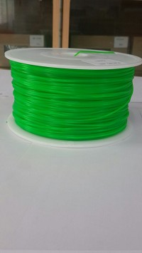 Transparent color Green PLA 3D Filament (1.75MM)(1 kg/roll)