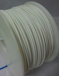 White PLA 3D Filament (1.75MM)(1 kg/roll)