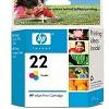 Color OEM Cartridge - C9352AN (HP 22) (140 page yield)