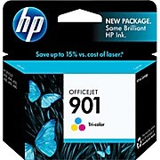 Color OEM Cartridge - CC656AN (HP 901) (360 page yield)