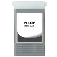 Matte Black Compatible Cartridge - PFI-102MBK