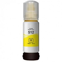 Yellow Compatible Ink Bottle - 512 Yellow